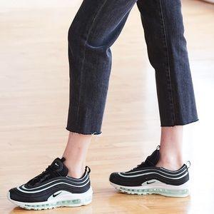 Nike AIR MAX 97 TIFFANY shoes Black Mint size 7.5